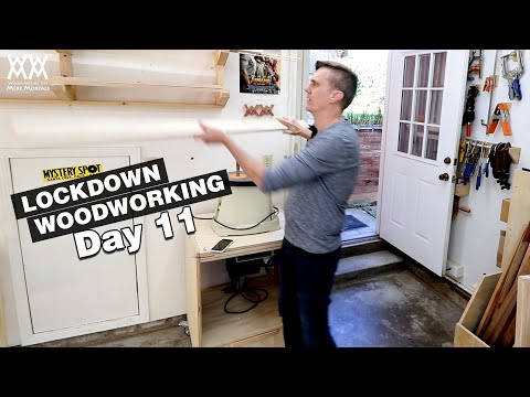 Time To Begin My Next Project | LOCKDOWN WOODWORKING DAY 11
