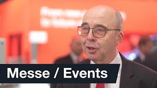 Unser coo, johann soder, berichtet live von der hannover messe 2019 über die anforderungen smarten fabrik zukunft und wie wir als sew-eurodrive uns a...