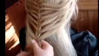 Красиво заплетаем косу  Видео