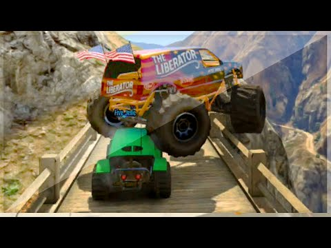 Monster Truck VS Stunt Buggy (GTA 5 Funny Moments) from YouTube · Duration:  12 minutes 4 seconds