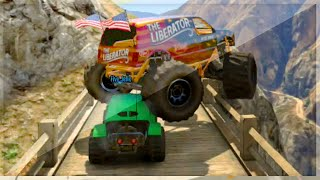 Monster Truck VS Stunt Buggy (GTA 5 Funny Moments)