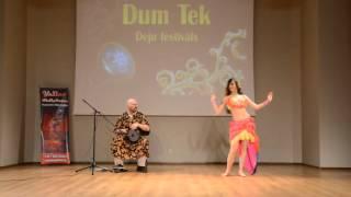 Gabriela Kameneckaja Performing with Dmitry Evsikov