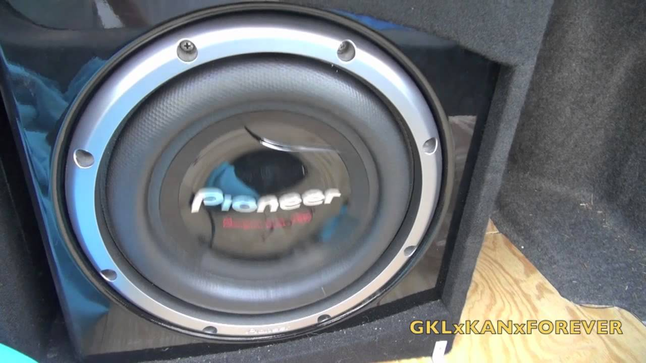 Pioneer Ts W3002d4 12 Quot Subwoofer Youtube