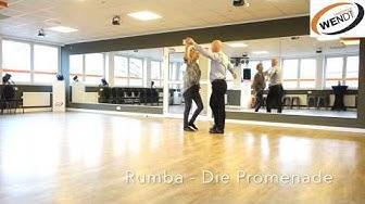Rumba - Tanzkurs - Basic Part 1 - Grundschritt | Promenade