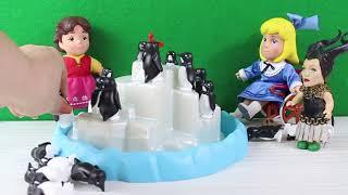 Heidi Clara Penguen Yarışması Buz Dağına Kim Daha Çabuk Çıkacak HEİDİ Yeni Bölüm Çizgi Film