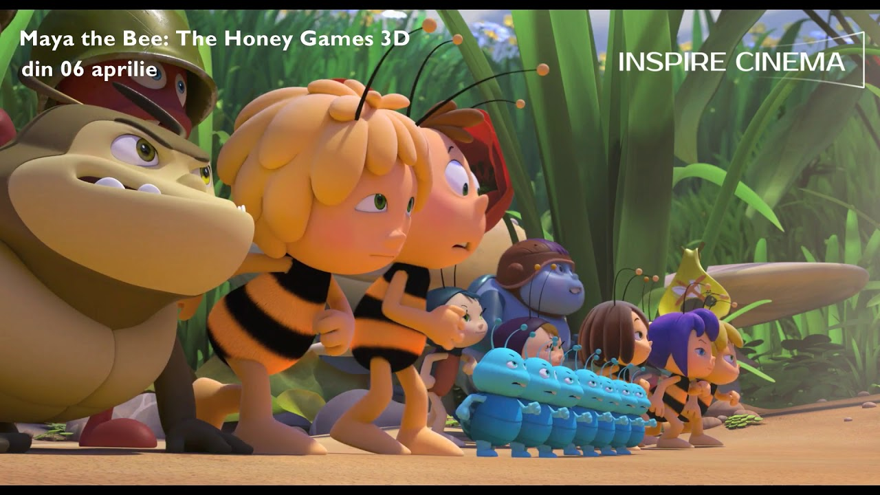 Download Maya the Bee: The Honey Games 3D dublat
