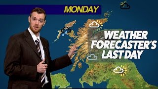 Weather forecaster's last day
