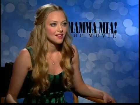Amanda Seyfried interview for Mamma Mia the Movie in HD