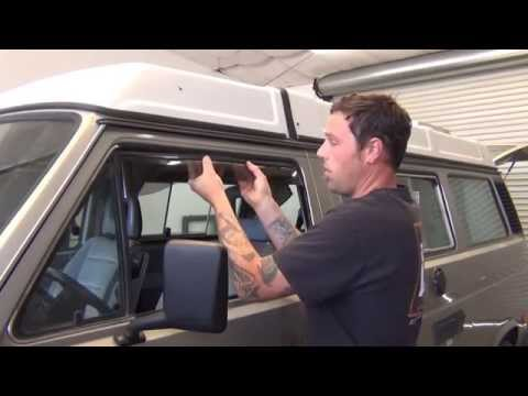 GoWesty: Installing Wind & Rain Deflectors - Vanagon and Eurovan