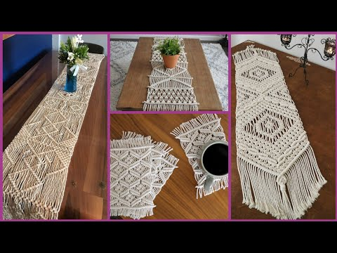 incredible-diy-macrame-table-runners-projects-&-inspired-ideas