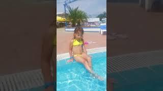 Эвелина на море лето