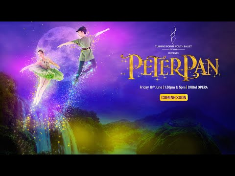 Turning Pointe Youth Ballet production of Peter Pan at Dubai Opera 2021