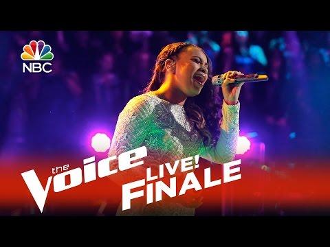 "The Voice Live Finale 2015 - Koryn Hawthrone: ""It's A Man's Man's Man's World"""