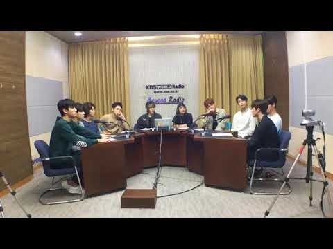 180907 SF9 INTERVIEW with KBS World Radio Indonesia (Not HQ Vid)