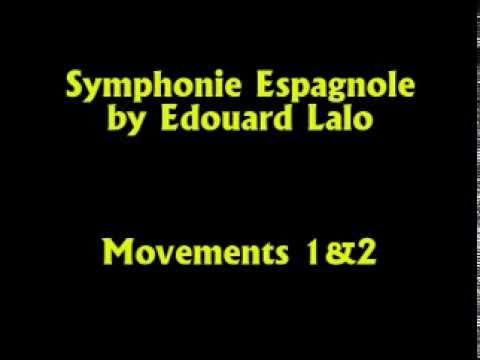 Semyon Snitkovsky Plays Spanish Symphony by Edouard Lalo, Movements 1&2