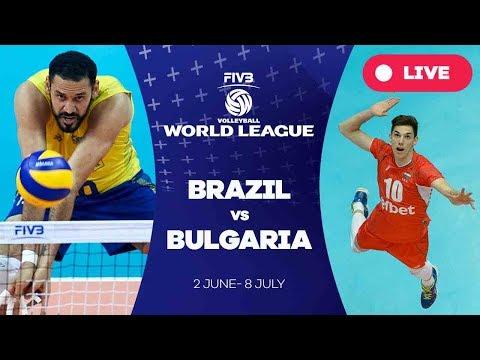 Brazil v Bulgaria - Group 1: 2017 FIVB Volleyball World League