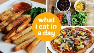What I Eat in a Day // Healthy Vegan Meal Ideas
