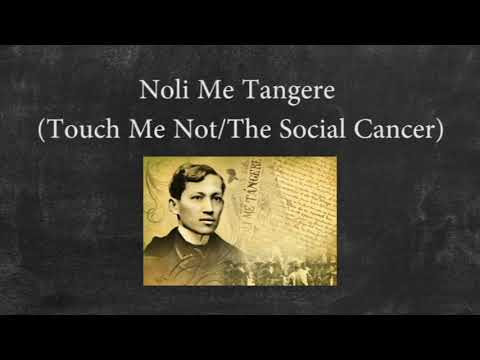 rizal notes Noli me tangere (touch me not) by jose rizal introduction by harold augenbraum translated by harold augenbraum notes by harold augenbraum by jose rizal.