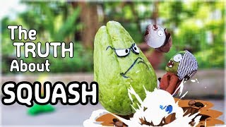 The Truth About PVZ in Real Life: SQUASH is the winner | MOO Toy Story