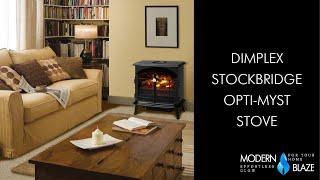 Dimplex Stockbridge Opti Myst Stove Youtube