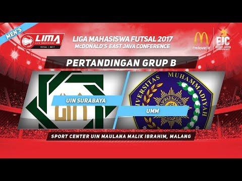 UINSA VS UMM di LIMA Futsal McDonald's East Java Conference 2017 (Men's)