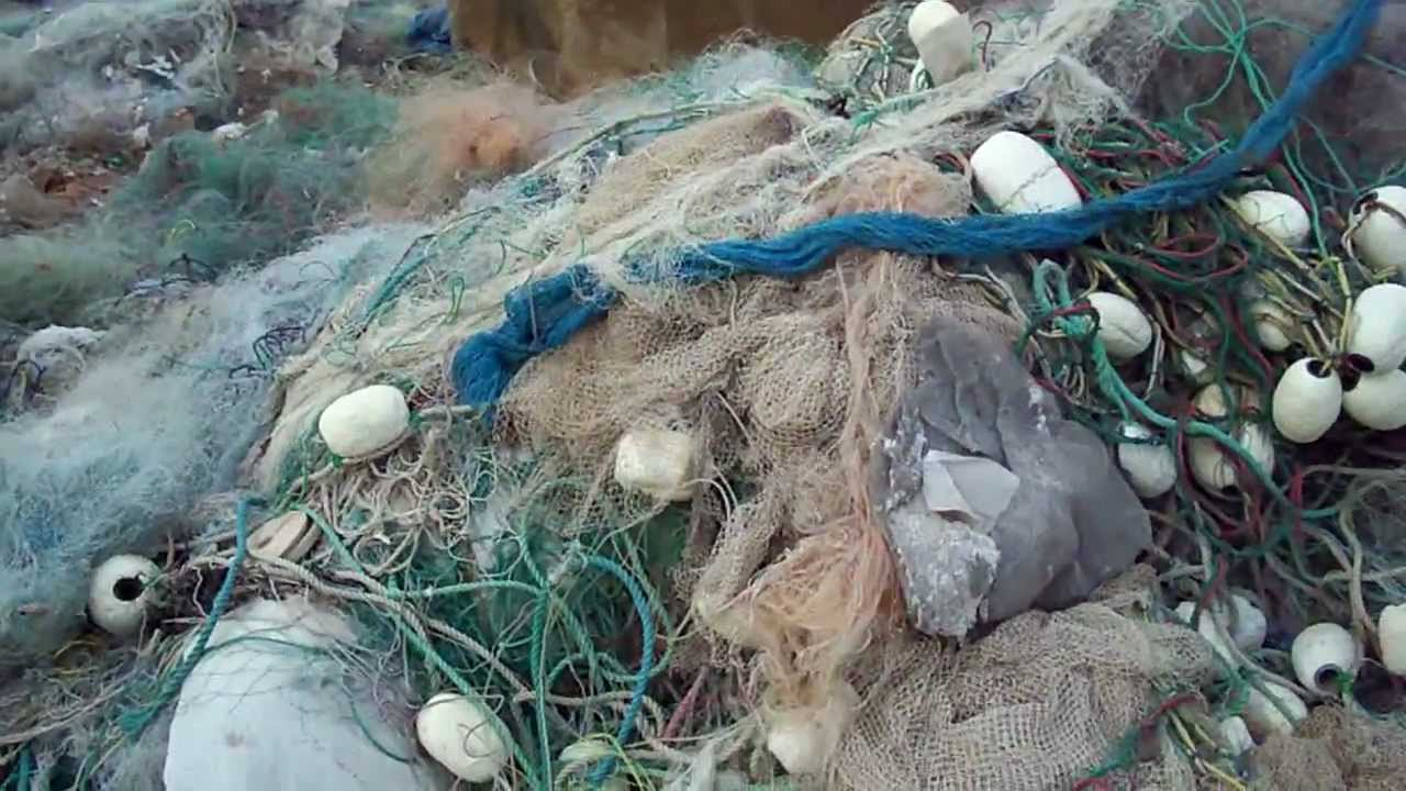 Nylon pa6 monofilament fishing net scrap youtube for Sjfc fish r net