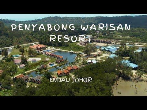Sehari Di Penyabong Warisan Resort, Endau, Johor   DJI Mavic 2 Zoom