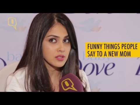 The Quint: Genelia D'Souza Discusses The Truth Behind Being A Mom