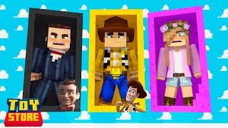 *TOY STORY 4 DOLLS* ARRIVE TO THE STORE! | Minecraft Toy Store | Little Kelly