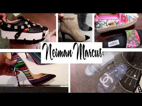 NEIMAN MARCUS * DESIGNER SHOES!!! COME WITH ME