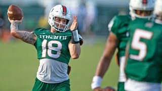 UM quarterback Tate Martell on the competition