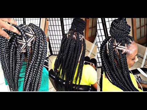 248BraidsbyTwosisters Inspired Spider Web Braids