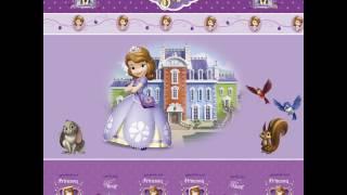 Coleção de folhas para Scrapbook Disney - Sofia