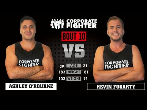 Corporate Fighter 26 - Ashley O'Rourke vs Kevin Fogarty