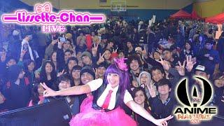 ★Lissette Chan en Anime Matsuri Aki★ [Concierto En Vivo/ Live]