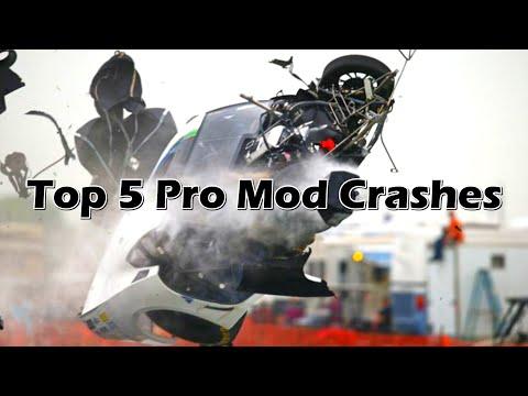 Top 5 NHRA Pro Mod Crashes