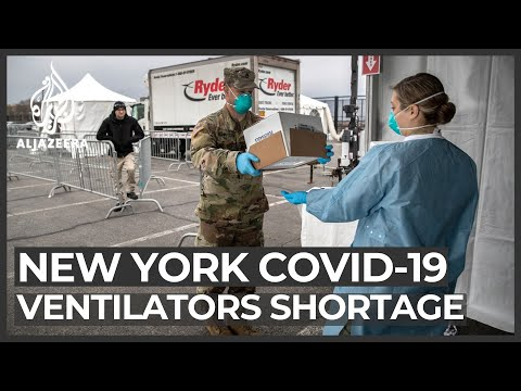 NY To Send Troops For Ventilators As Death Toll Nears 3,000
