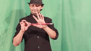 تعلم العاب الخفة # 334 .. magic trick revealed ....Ring finger And stick