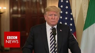 Donald Trump on Iran: 'If they want to meet, I'll meet' - BBC News