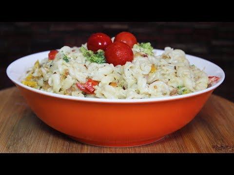 Broccoli Bell Pepper Pasta || Kavita Gandhi
