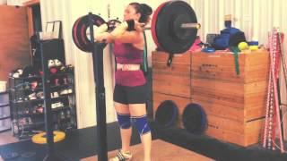 George & Tamara: Front Squat FAILS!! Weightlifting Academy