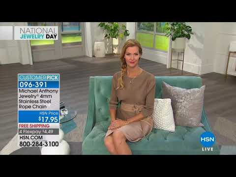 HSN | Michael Anthony Jewelry 03.13.2018 - 10 AM