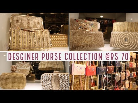 DESIGNER  PURSE COLLECTION 2018  | CHEAP LADIES BAGS WHOLESALE MARKET | LADIES HANDBAGS,CLUTCHES,