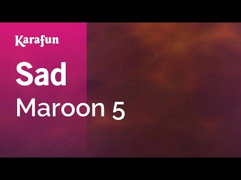 Karaoke Sad - Maroon 5 *