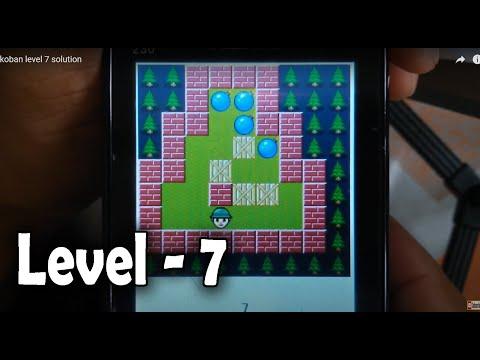 Sokoban Level 7 Solution