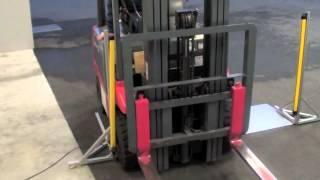 Keyence GLR Forklift test