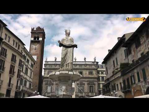 Verona - Arena und der Balkon der Julia Italien Italia