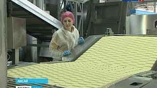 Как делают печенье на Аксайской фабрике