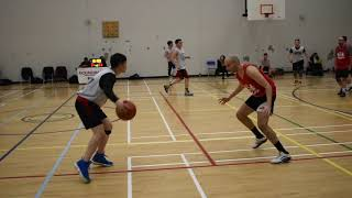 2018 Burnaby Fall League - FIre vs Reds - Roundball BC Mens Basketball League