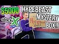Unboxing a $5000 Hypebeast Mystery Box from STOCK X?!